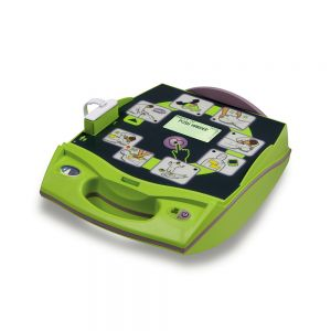 ZOLL AED Plus Fully Automatic Defibrillator - front angle view