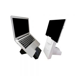 Box Office Mobile - side angle views, as a laptop or tablet stand
