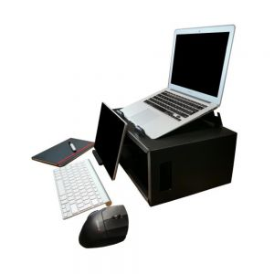 Box Office Pro - shown as a laptop stand