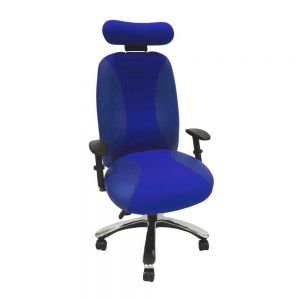 Adapt 700 Bariatric Chair - with arms & headrest - front view