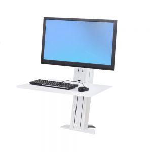 Ergotron WorkFit-SR Single Monitor Sit-Stand Workstation