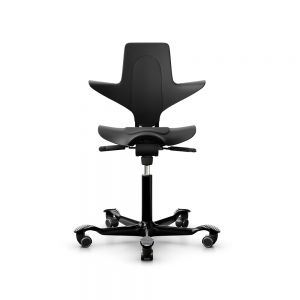 HÅG Capisco Puls 8010 Black Office Chair - front view
