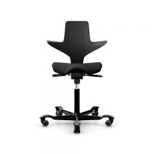 HÅG Capisco Puls 8020 Black Office Chair - front view