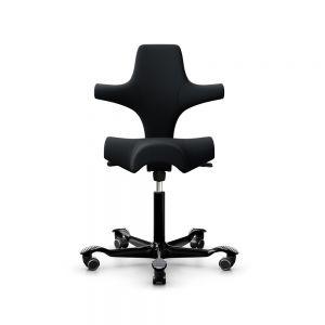 HÅG Capisco 8106 Black Office Chair - front view