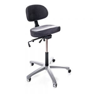 Hepro S10 Standing Chair - angle view
