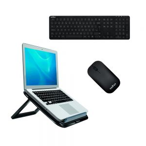 I-Spire Series™ Laptop Quick Lift, Veho HUT8 WZ-1 Bluetooth Keyboard & Mouse