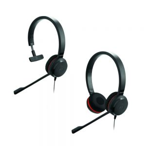 Jabra Evolve 30 II MS Mono NC Monaural and Jabra Evolve 30 II MS Stereo NC Binaural Headsets