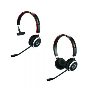 Jabra Evolve 65 MS Mono NC Monaural and Jabra Evolve 65 MS Stereo NC Binaural Headsets
