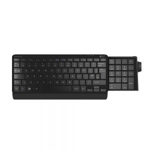 Number Slide Compact Keyboard - showing number pad