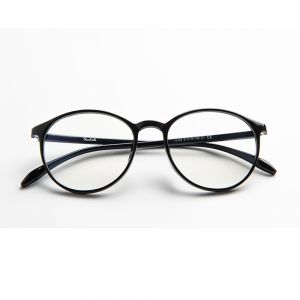 Carson Anti Blue Light Glasses - Shiny Black