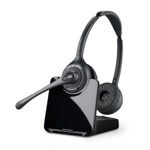 Plantronics CS520 Wireless Binaural Headset & Lifter
