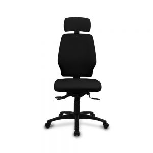Positiv Me 100 Medium Back (w/ headrest/lumbar) - Black