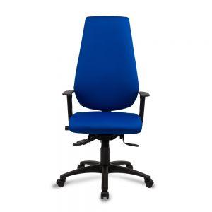 Positiv Me 400 Extra High Back (w/ adjustable armrests/lumbar/high gas stem) - Black