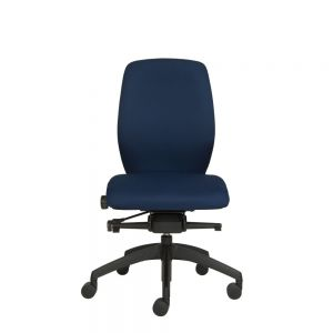 Positiv Plus Medium Back (w/ memory foam seat) - Navy