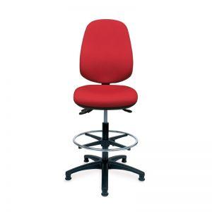 Positiv R600 High Back Draughtsman (w/ seat slide/lumbar/glides)