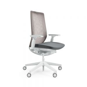 Profim Accis Pro 150SFL Grey Office Chair - front angle view