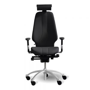 RH Logic 400 (including 8S armrests/neckrest) - Black