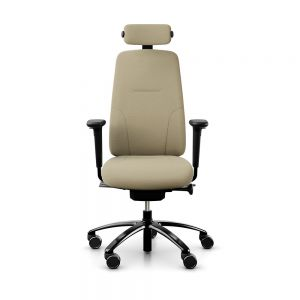 RH New Logic 220 High Back Straw Office Chair - front view