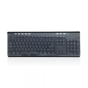 Universal Thin Silicon Keyboard Cover - shown over keyboard
