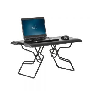 VariDesk® Laptop 30™ - front angle view, showing raised
