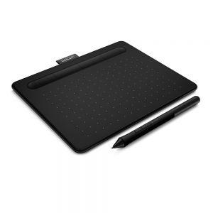 Wacom Intuos S Graphics Tablet - angle view
