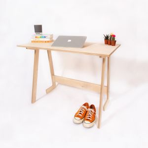 The WFH Folding Desk - front angle view