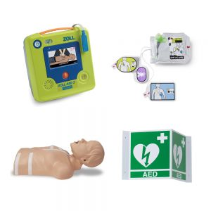 ZOLL AED 3 Training Unit, Accessories & Storage