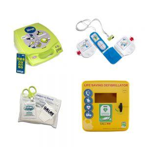 ZOLL AED Plus Training Unit, Accessories & Storage