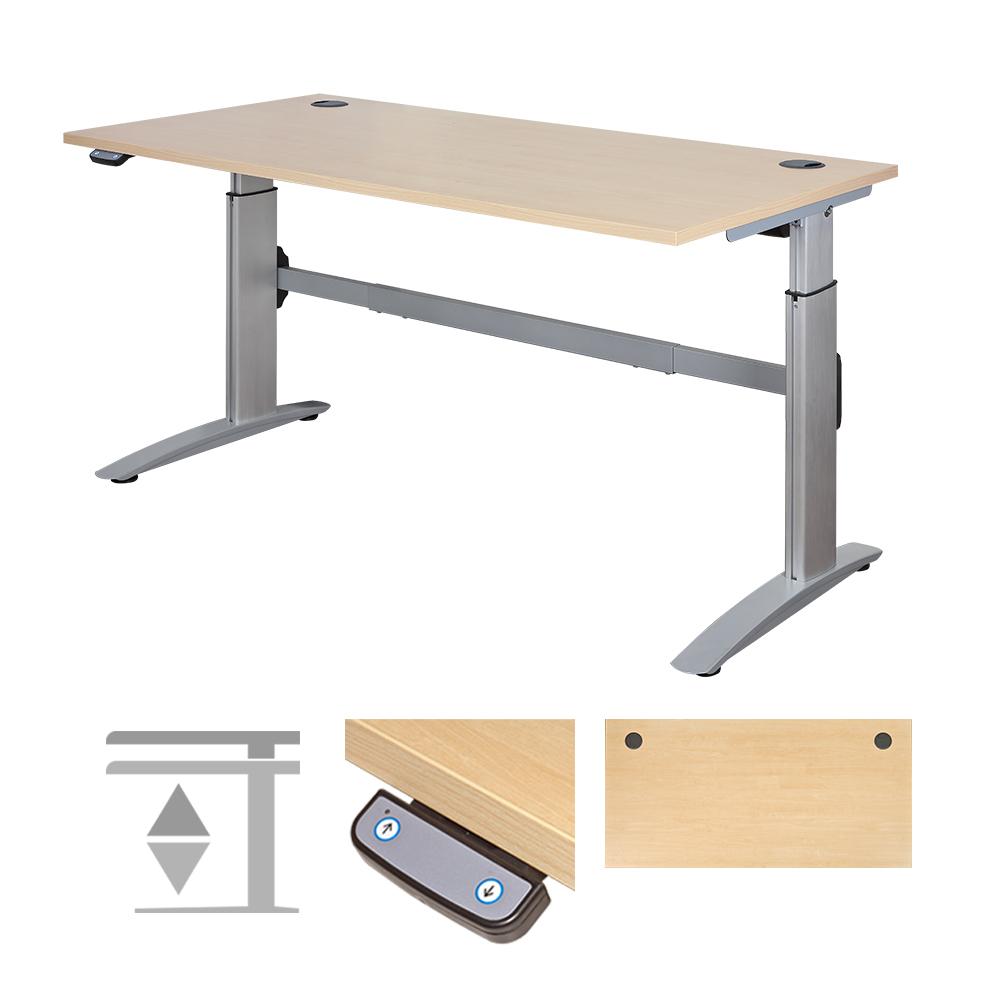 Stand Sit Desks L Reception Desk