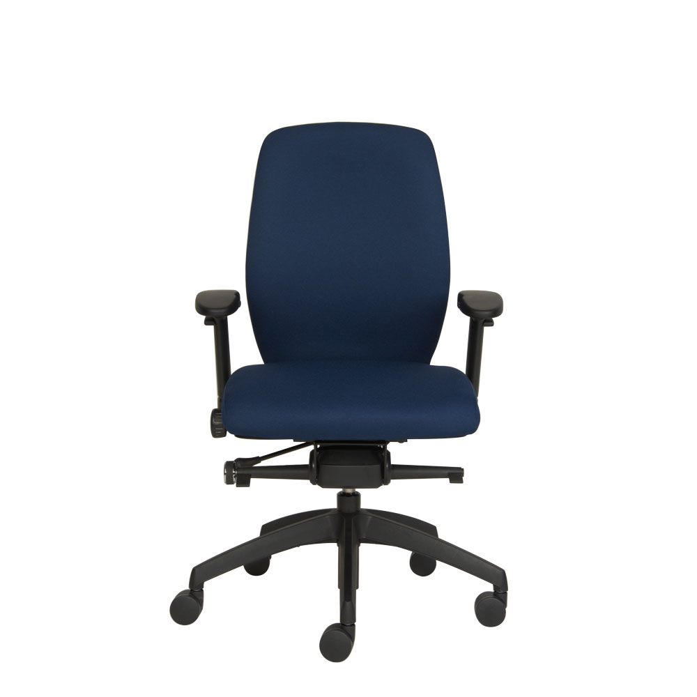 Positiv Plus Medium Back Ergonomic Chair From Posturite - Ergonomic office chair uk