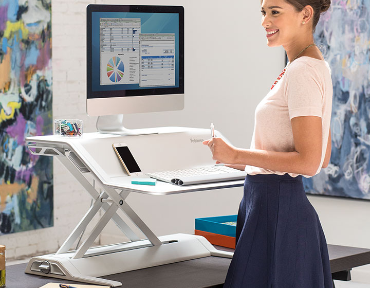 Lotus™ DX Sit-Stand Workstation