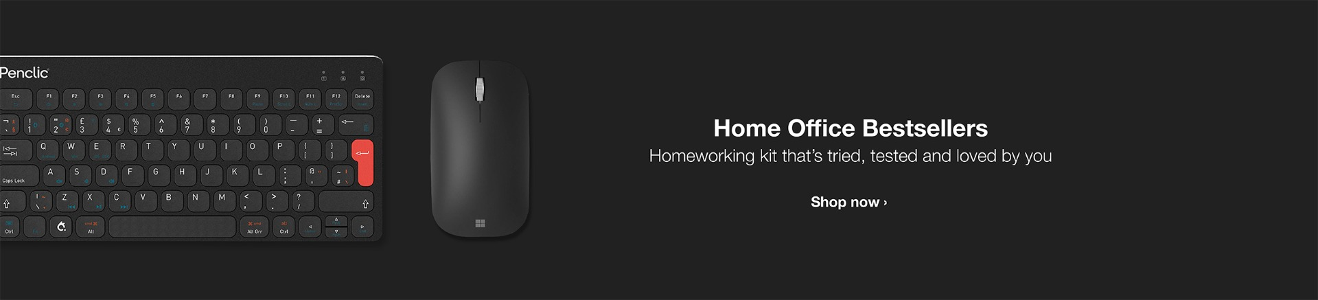 Homeworking kit that's tried, tested and loved by you