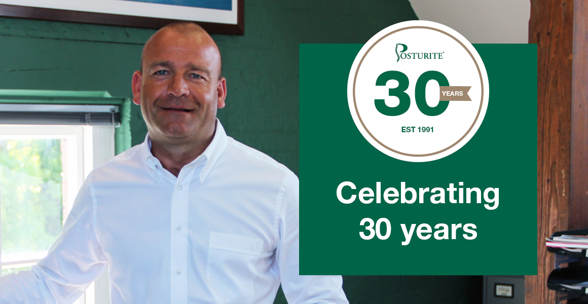 30 years in business - how Posturite helped pioneer a new way of working