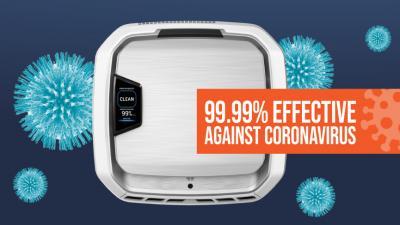 Kill 99.99% of coronavirus within one hour with AeraMax® Pro
