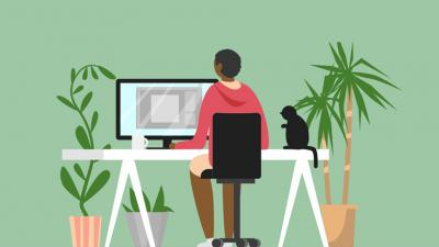 How to choose the best homeworking chair for you - infographic