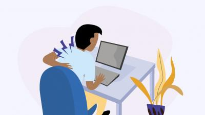 Your infographic guide to work from home back pain