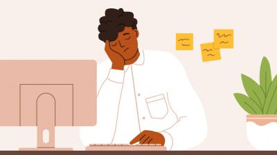 Use this infographic to spot signs of work from home fatigue