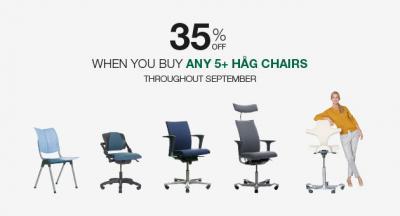 Amazing discounts on ergonomic seating