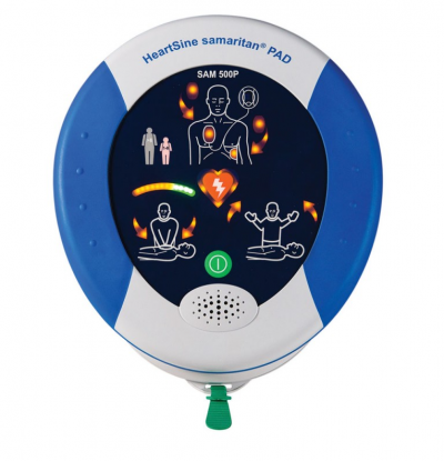 How to save a life with a HeartSine automatic external defibrillator