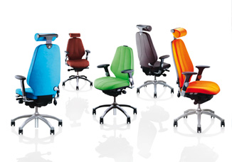 Arrangement of Office Chairs