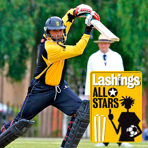 Cricketer from the Lashings All-Stars team