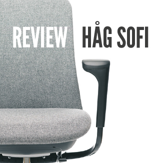 Banner image advertising that this blog post is reviewing the HÅG SoFi Chair