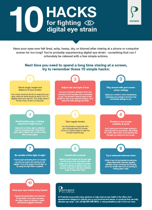 10 hacks for fighting digital eye strain