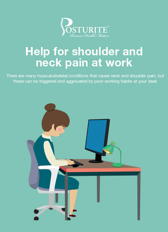 Help for shoulder and neck pain at work