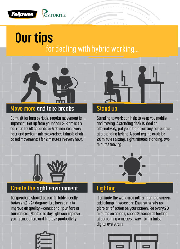 Our tips for dealing with hybrid working