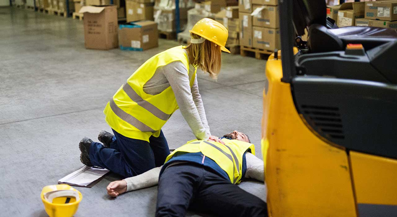 Why is first aid training at work important?