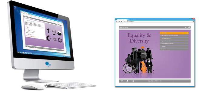 Equality & Diversity E-learning Course Screenshot