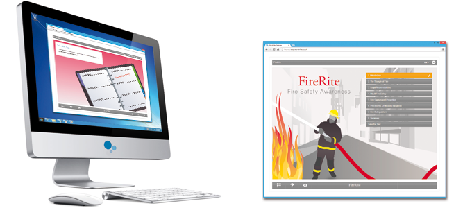 Fire Safety Awareness (FireRite) E-learning Course Screenshot