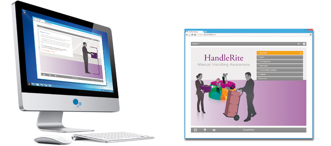 Manual Handling (HandleRite) E-learning Course Screenshot