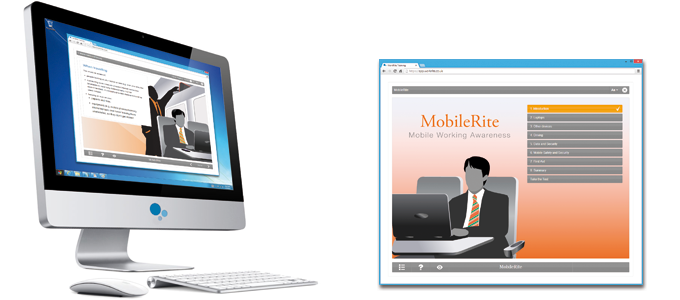 Mobile Workers (MobileRite) E-learning Course Screenshot